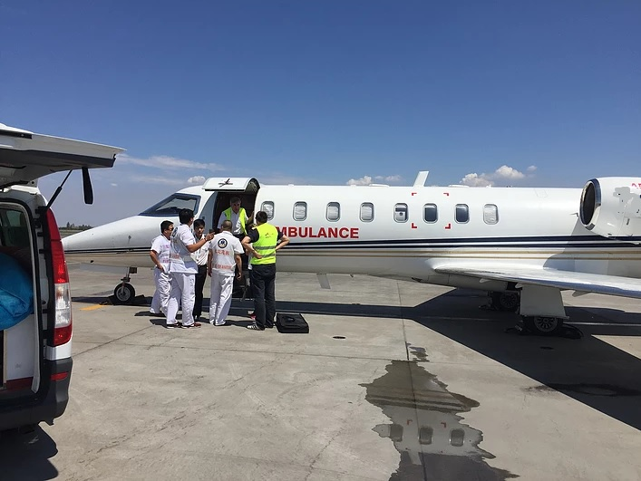 Inchirieri avion privat - ambulanta aeriana
